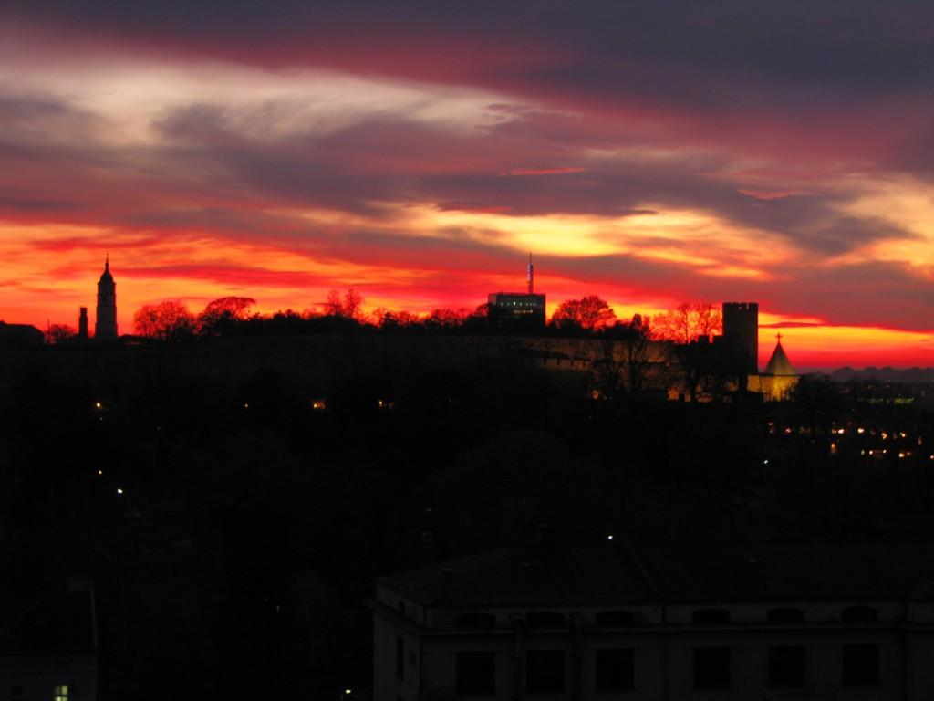 Kalemegdan park and Belgrade fortress  Belgrade my way