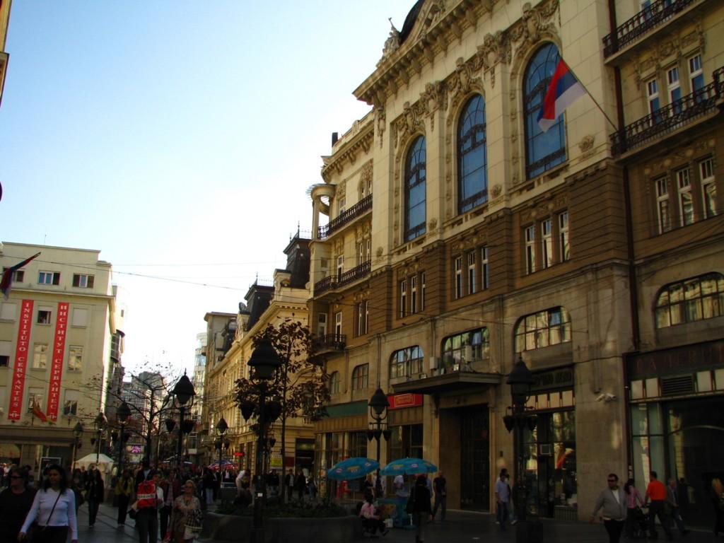 Knez Mihailova street  Belgrade my way
