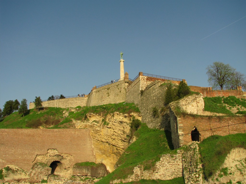 Kalemegdan park and Belgrade fortress  Belgrade my way