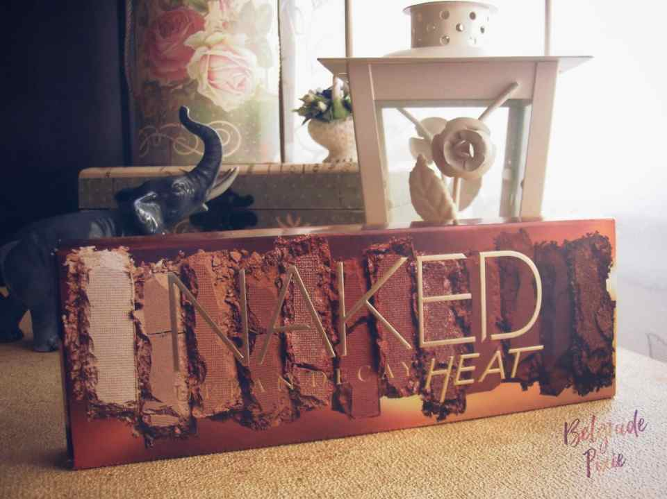 Urban Decay Naked Heat Review / Recenzija