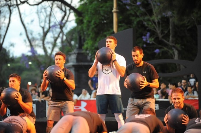 Michael Phelps visitó Argentina por primera vez
