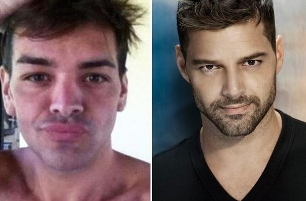 Ricky Martin Fran Mariano