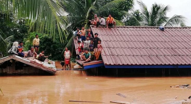 represa Laos