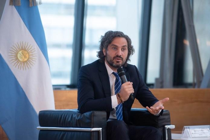 Santiago Cafiero celebró el éxito en las elecciones de Río Cuarto