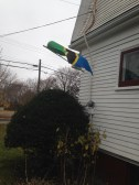 My family has been flying the Tanzanian flag while I was away