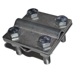 55758 Зажим крестовидный прут-прут с тремя пластинами