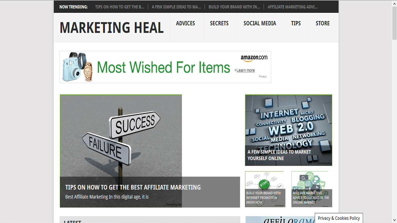 Marketing Heal