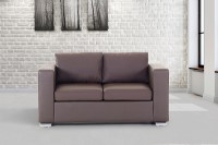 Leather sofa, love seat, living room furniture, couch ...