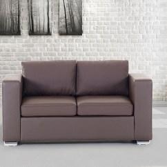 Genuine Leather Sofa Uk Pottery Barn Manhattan Sleeper Love Seat Living Room Furniture Couch