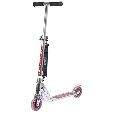 HUDORA Kinder-Roller Evolution Girl Scooter Kinder, weiß