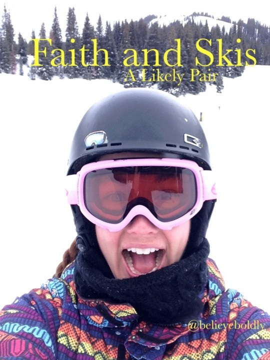Faith and Skis Picture