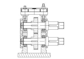 CANTILEVERED MILL of roll forming machine