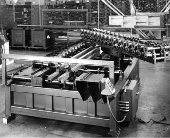 door panel roll forming machine