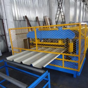 ibr roof sheeting roll forming machine