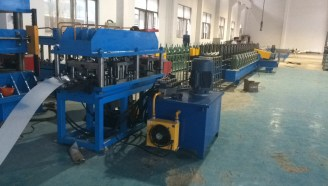 Steel Door Frame roll forming machine punch device