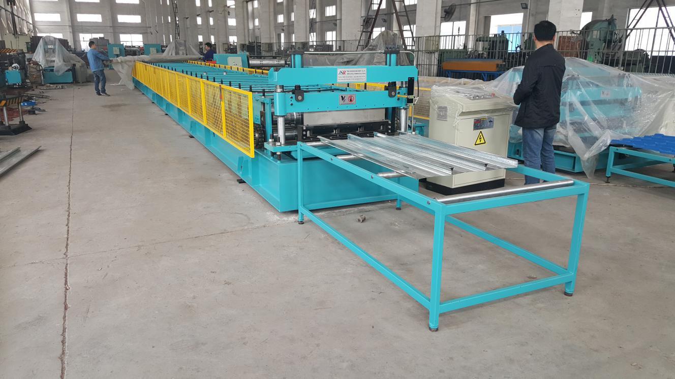 composite floor deck roll forming machine