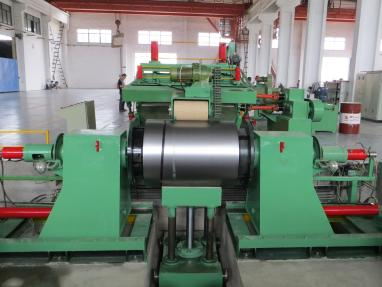 slitting line uncoiler and coil car