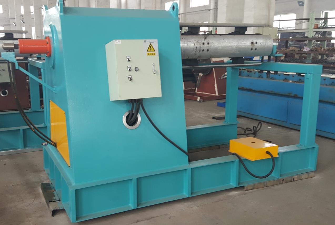 floor deck roll forming machine uncoiler