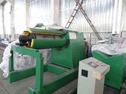 Simple Slitting Line Uncoiler