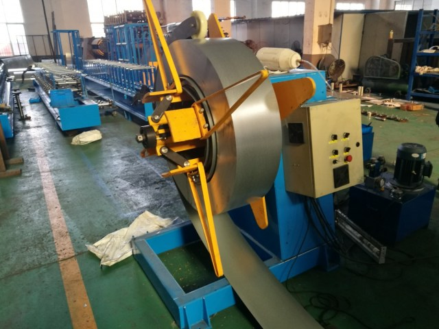 Cable Tray Machine Uncoiler