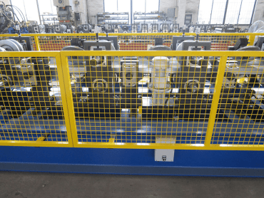 roll forming parts of c and z purlin roll forming mill