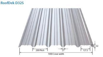 Metal Roof Deck D32