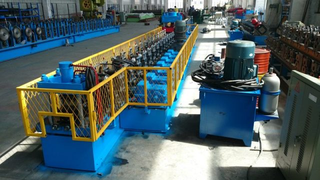 cropped greenhouse profile roll forming machine