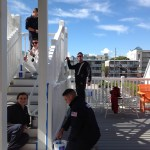 Sherwin Williams, U.S. Coast Guard join together to paint the Children's House By The Sea