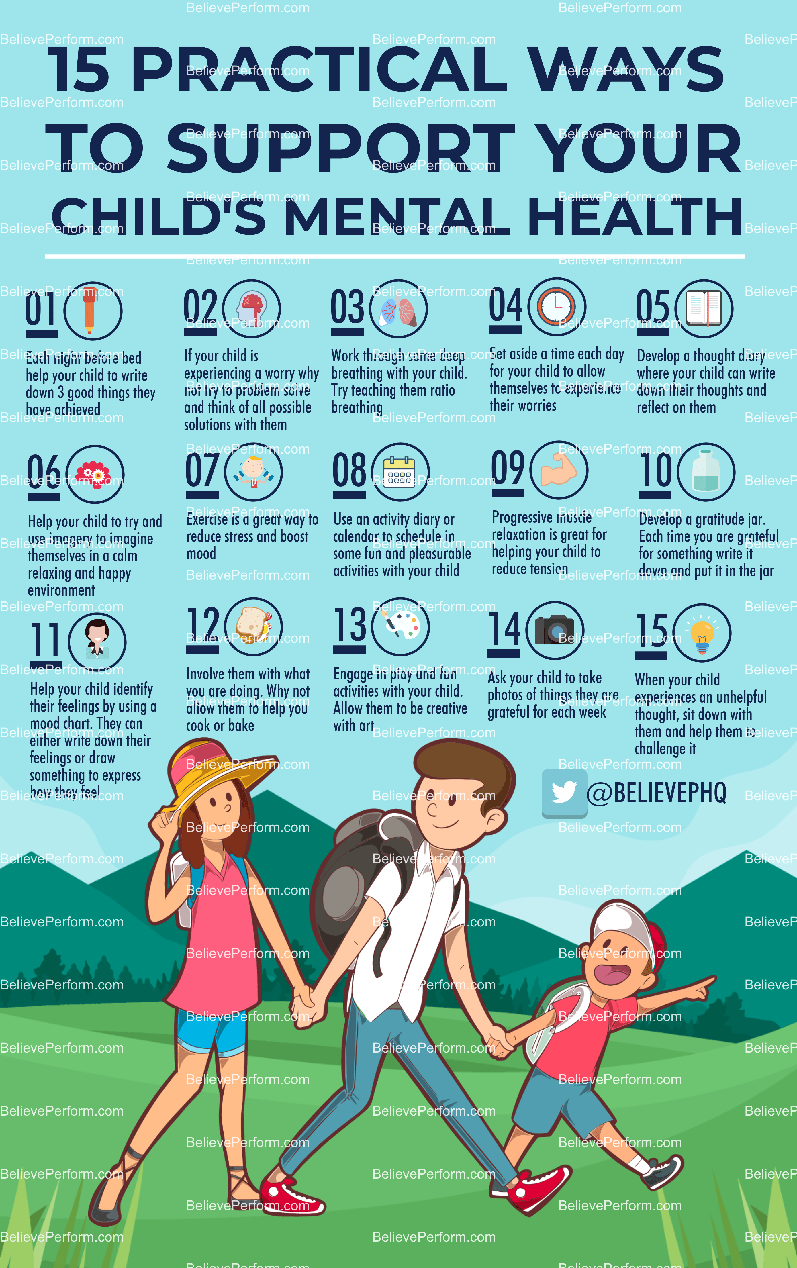 15 Practical Ways To Support Your Child S Mental Health