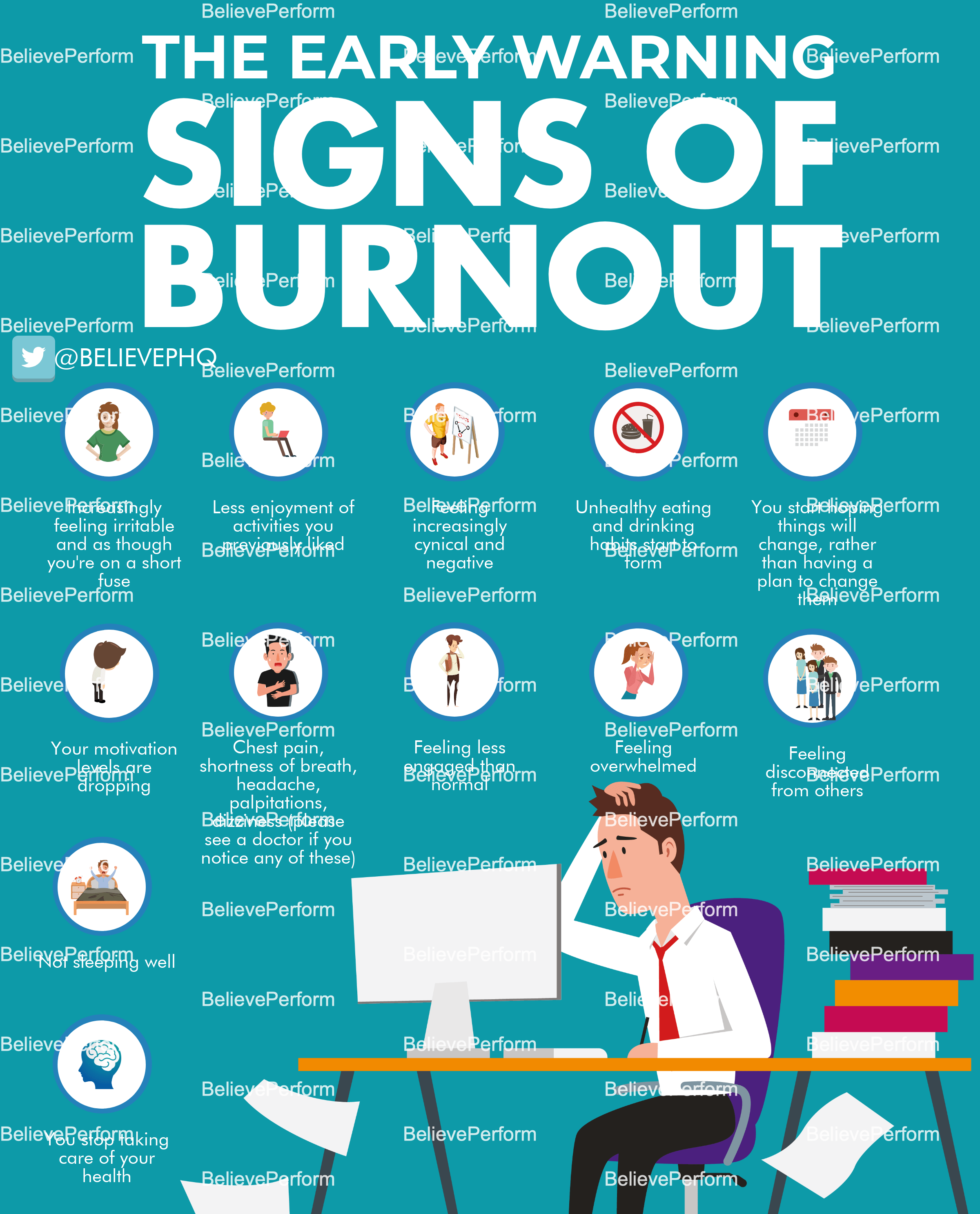 The Early Warning Signs Of Burnout