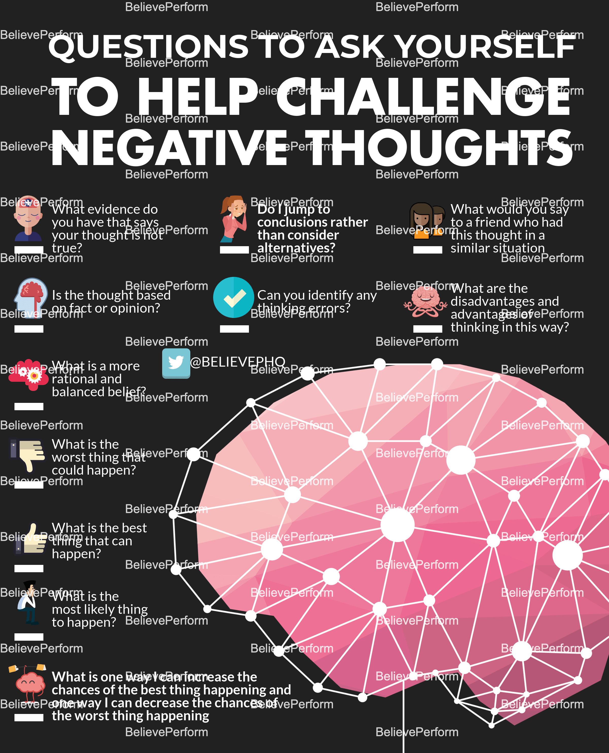 Questions To Ask Yourself To Help Challenge Negative