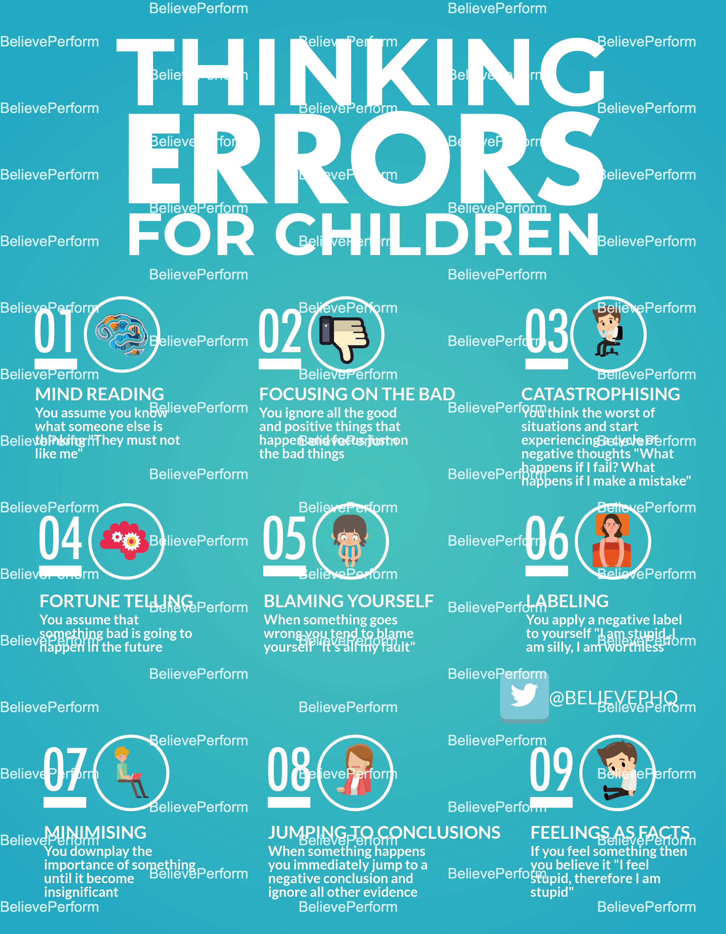 Thinking Errors For Children