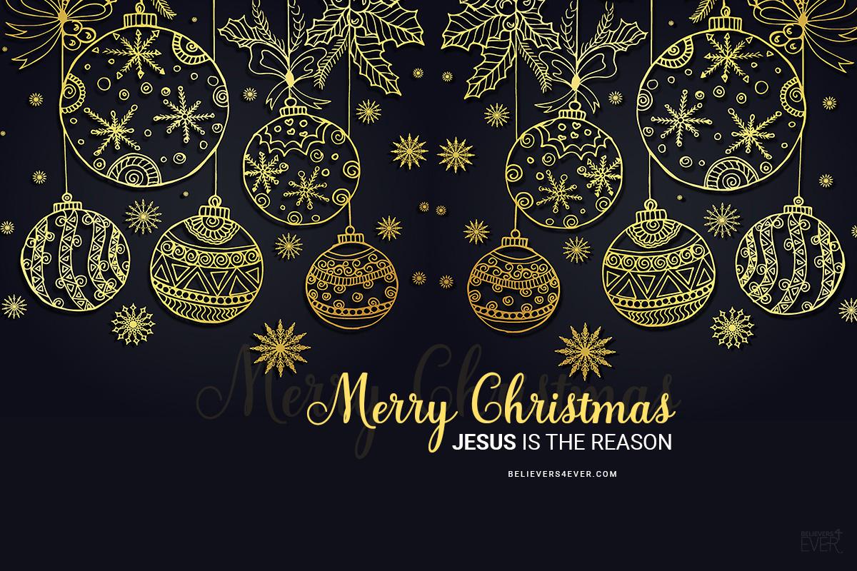 merry christmas jesus is