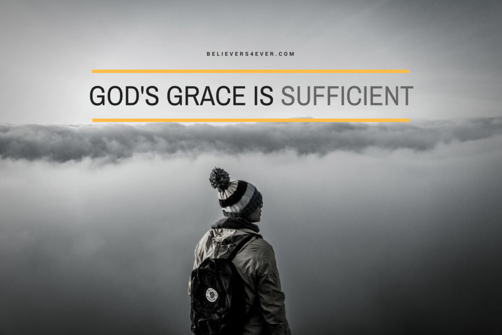 Happy Thanksgiving Quotes Wallpapers God S Grace Is Sufficient Believers4ever Com