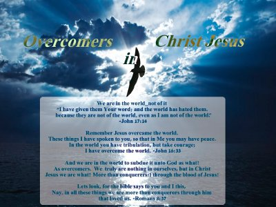 Overcomer's Covenant in Christ