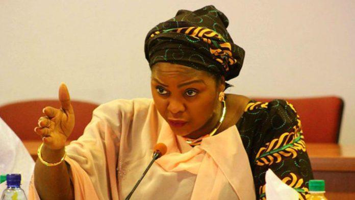 Senator representing Adamawa North Senatorial District in the Senate, Mrs. Binta Masi Garba