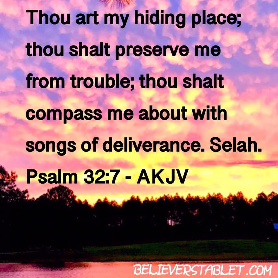 PSALM 32-7