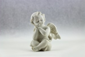 Cupids are baby angels with wings