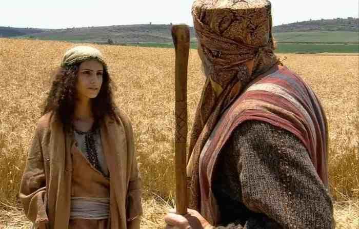 Ruth meets Boaz