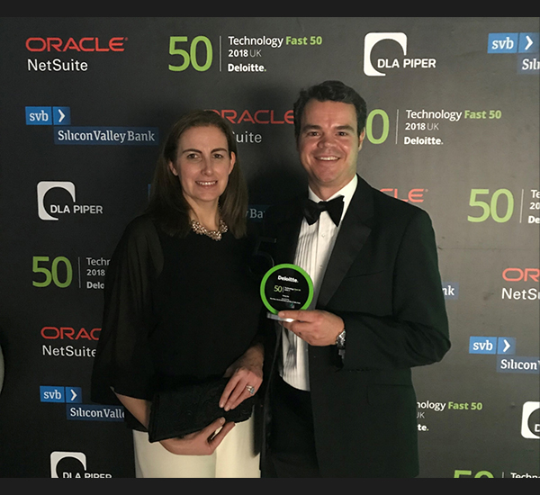 Limitless named Rising Star at the Deloitte UK Technology Fast 50
