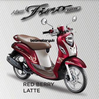 new fino 125 Blue core Premium red berry latte