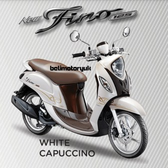 new fino 125 Blue core Premium White Capuccino