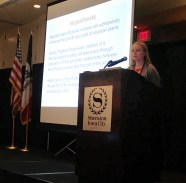 Rachel Mehmert, 4th place, Rhizobia: The Future Natural Fertilizer of Glycine Max