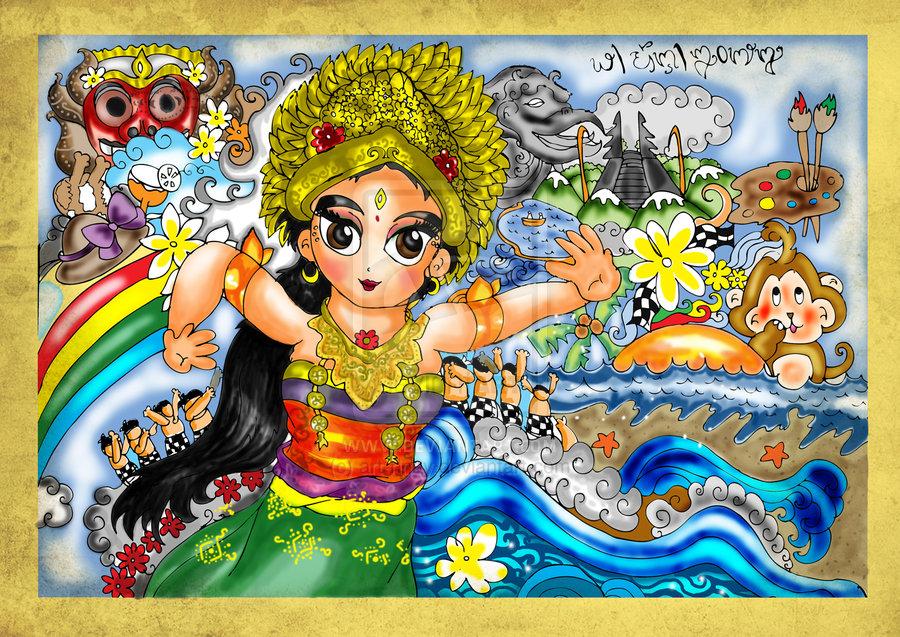 Apa itu Seni Tari Indonesia  belindahana