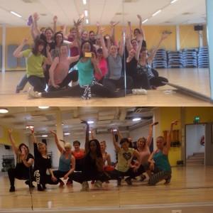 Mä niin rakastan tanssia ja saan mun tanssitunnilta kaikkea sitä terapiaa mitä mun mielenterveys tarvitse. Ja minusta on ihanaa saada hyvää palautetta ja sit kun jengi toivoo näitä tanssitunteja lisää niin mä oon ihan hypessa! Yläkuvassa GoGo Hermia hervannassa ja alakuvassa GoGopark keskustassa.