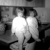 Me and Beth 1962 or thereabouts