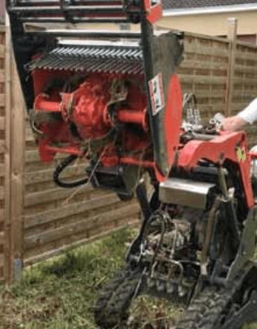 Préparateur de sol - enfouisseur de pierres pour microBull PRO II, Réf 00542 - Micro Bull