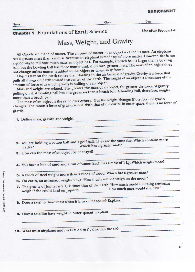 worksheet Bill Nye Gravity Worksheet weight loss bros mass gravity