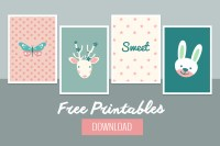 Sweet Baby Wall Decor - Free Printable - BelivinDesign