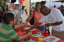 Visitors at Export Belize